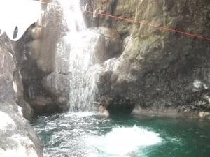 Marlou at Hindag-an Falls