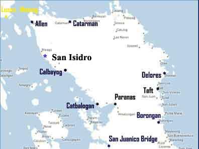 San isidro northern samar website