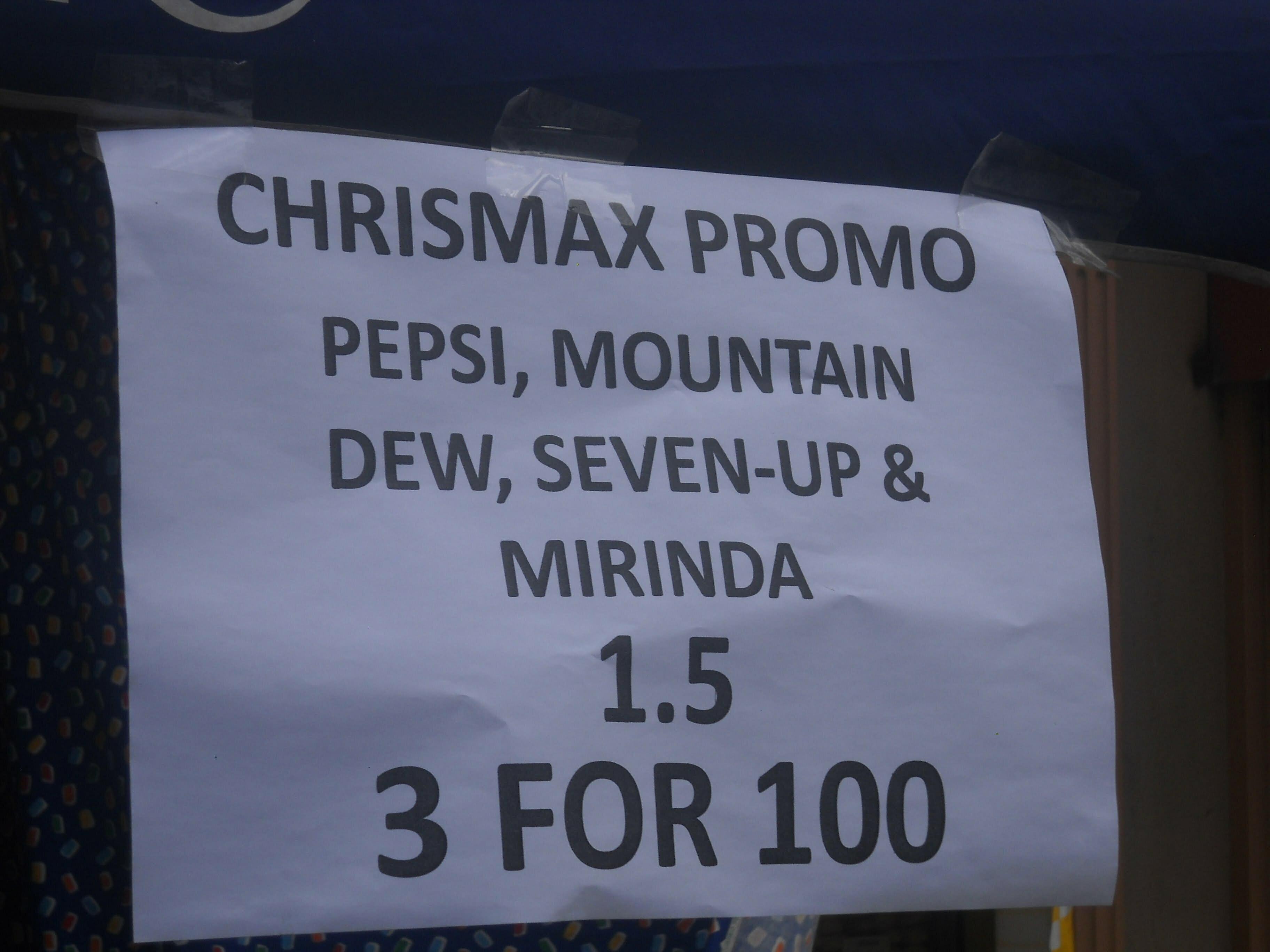 FranJessy Christmas Pepsi Promo
