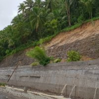 DPWH Completes New Catch Wall